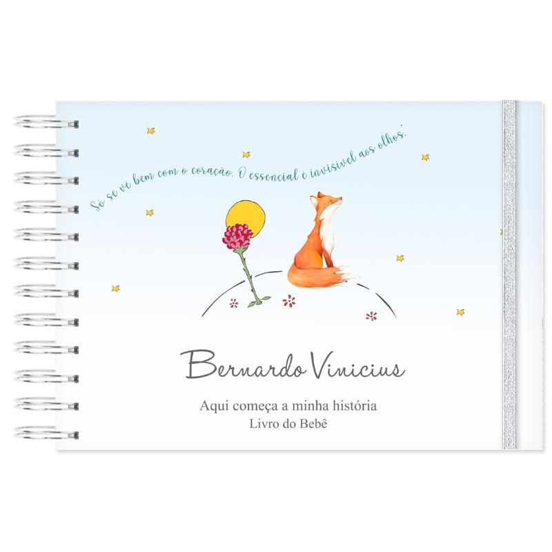 Livro do Bebê Personalizado Pequeno Príncipe