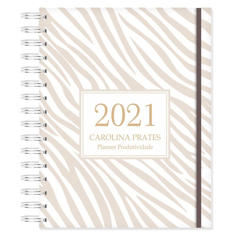 Planner 2021 Produtividade - Animal Print