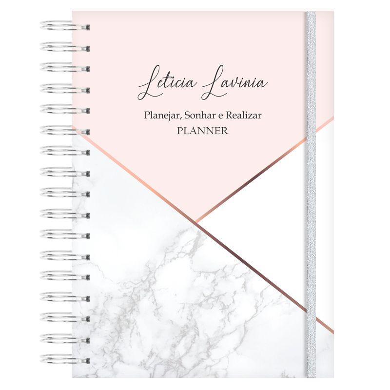 Mini Planner Diário - Marmorizado