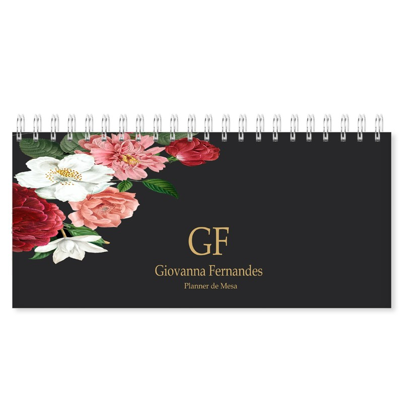 Planner de Mesa - Floral Latino