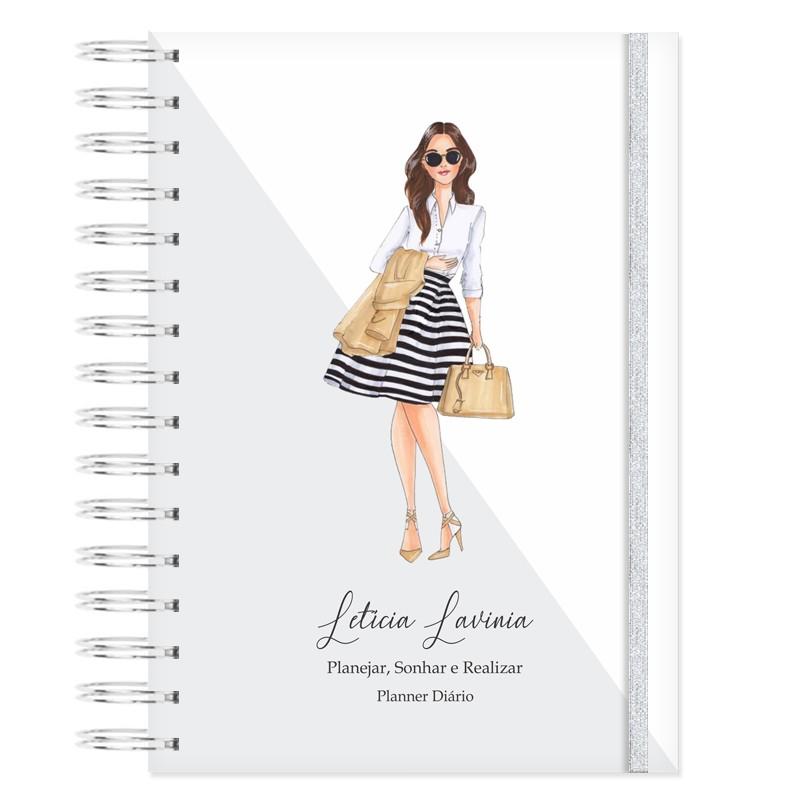 Mini Planner Diário -  Mulheres que Brilham