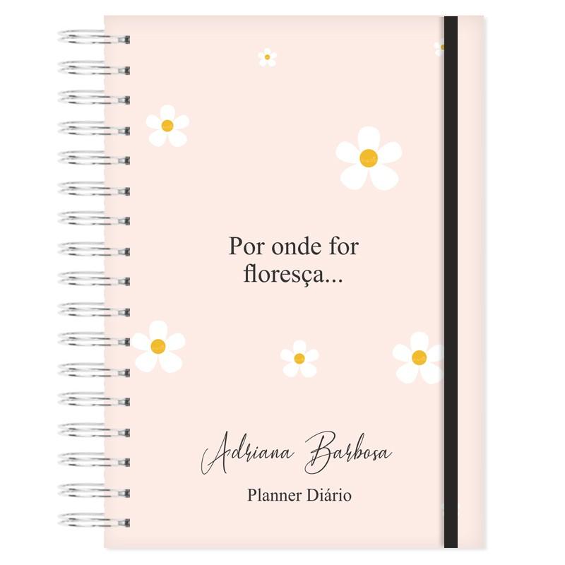 Mini Planner Diário - Bem-me-quer