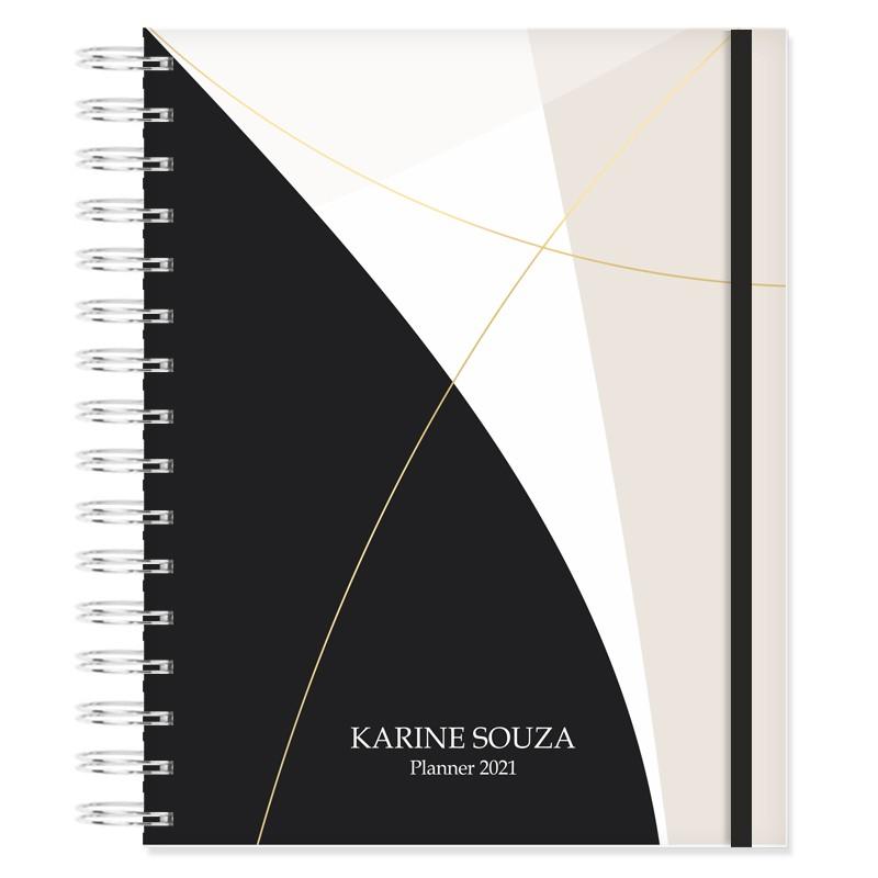 Planner 2021 foco na produtividade - Elegante