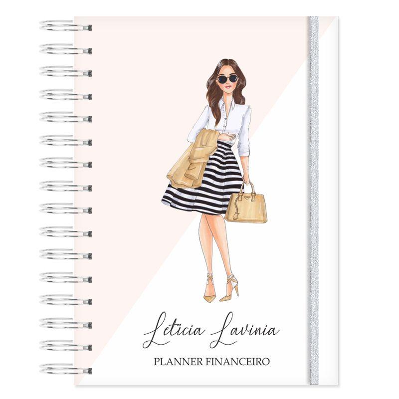 Planner Financeiro - Fashion  - Valentina Milan Papelaria