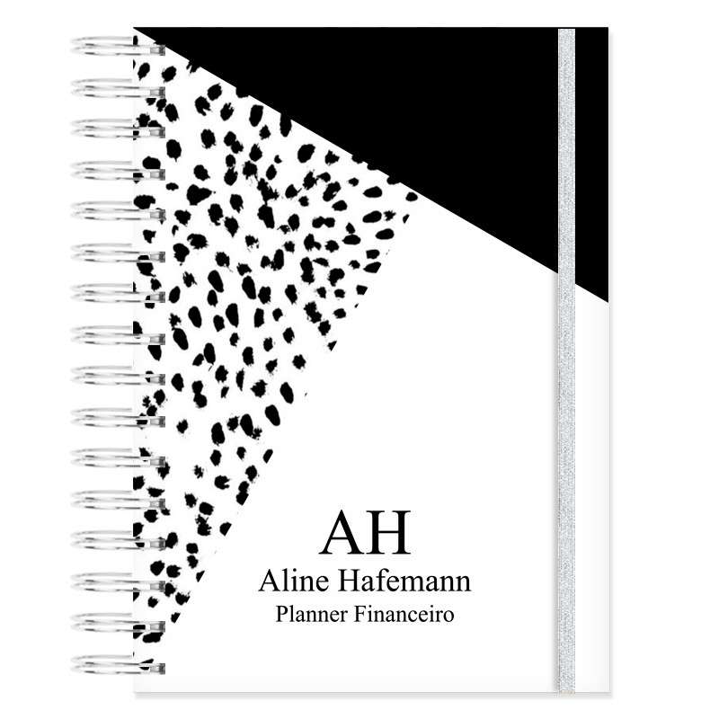 Planner Financeiro - Animal Print