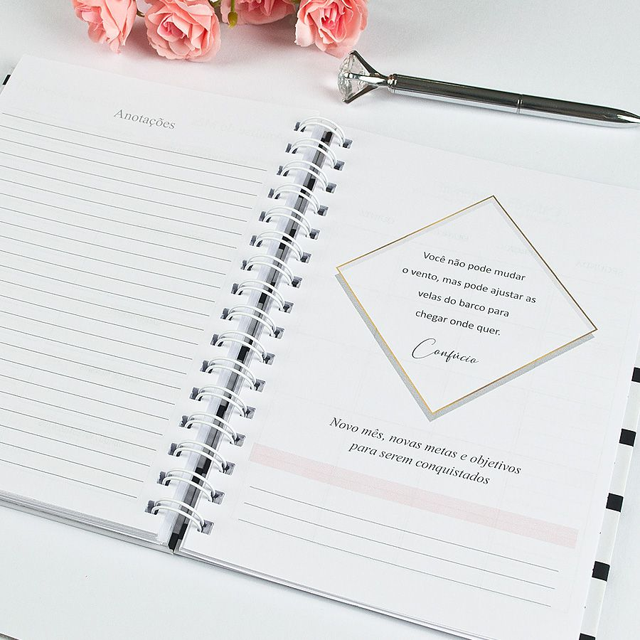 Planner Financeiro - Elegante  - Valentina Milan Papelaria