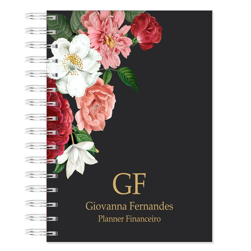 Planner Financeiro - Floral Latino