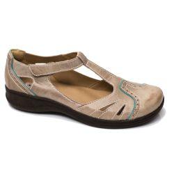 Sapato Comfort em Couro Caribbean