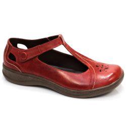 Sapato Comfort em Couro Lucy