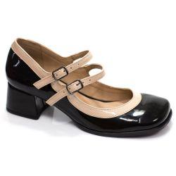 Sapato Boneca Retrô em verniz Ana
