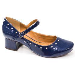 Sapato Boneca Retrô em verniz Barrow