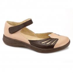 Sapato Comfort em Couro Cloudy