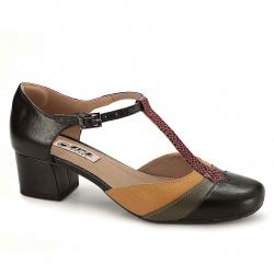 Sapato em Couro Olivia