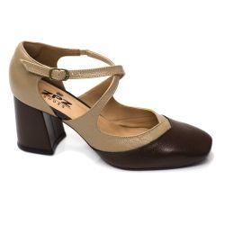 Sapato Retrô em Couro Branch