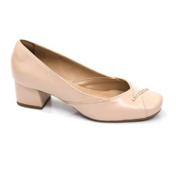 Sapato Retrô em Couro Candy