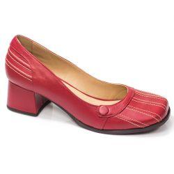 Sapato Retrô em couro Frenchie