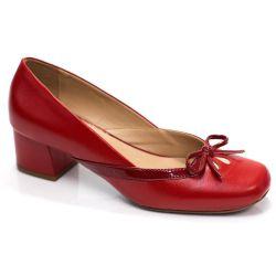Sapato Retrô em Couro Lian