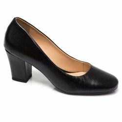 Sapato Retrô em Couro Macaron