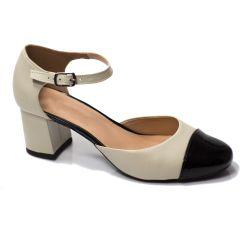Sapato Retrô em Couro Mille