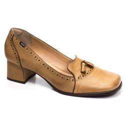Sapato Retrô em couro Olsson