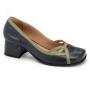 Sapato Retrô em couro Bondade