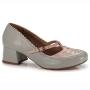 Sapato Retrô em couro Mullan