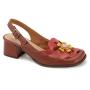 Sapato Retrô em couro Sândalo