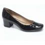 Sapato Retrô em Verniz Skyler