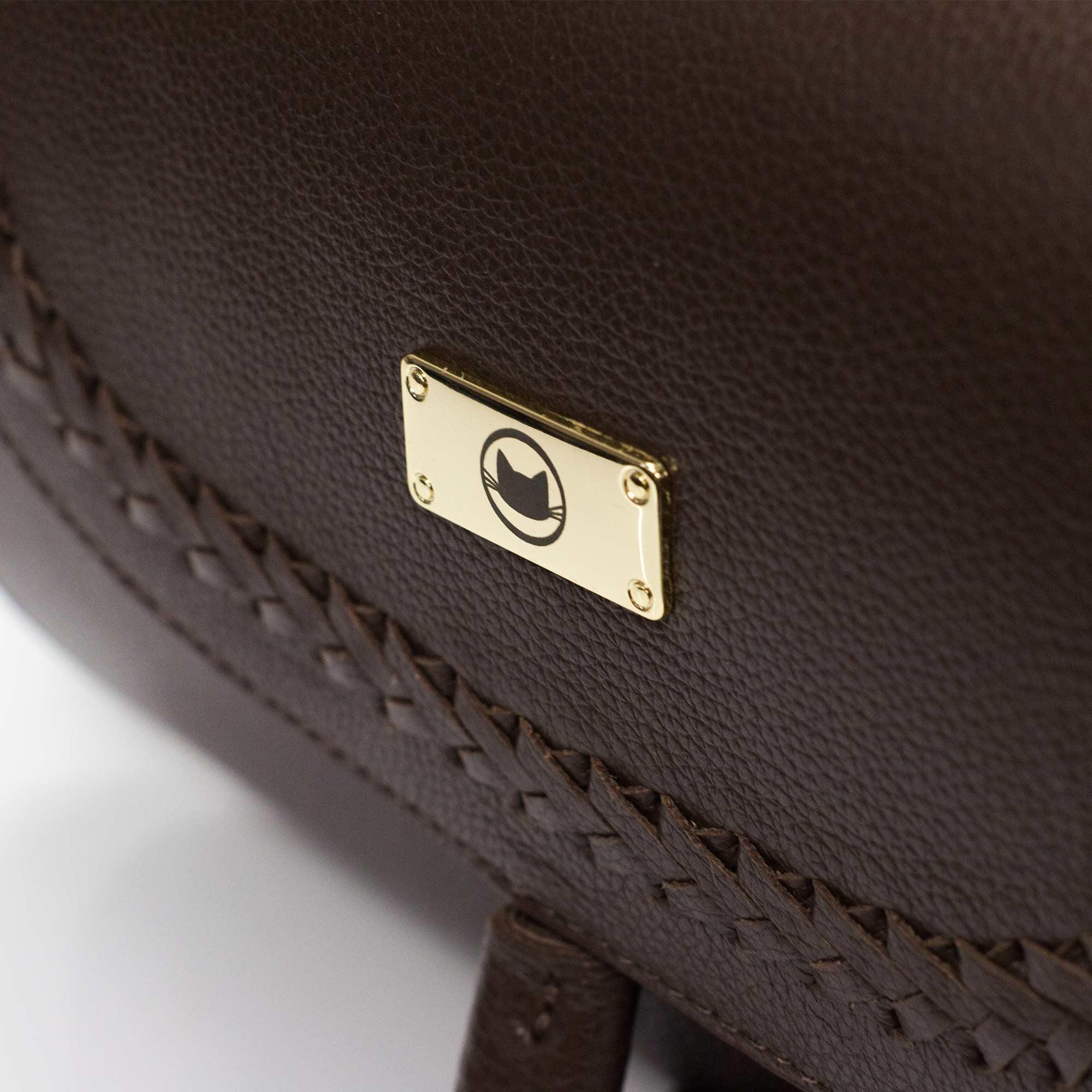 Bolsa tiracolo em couro Anastasia