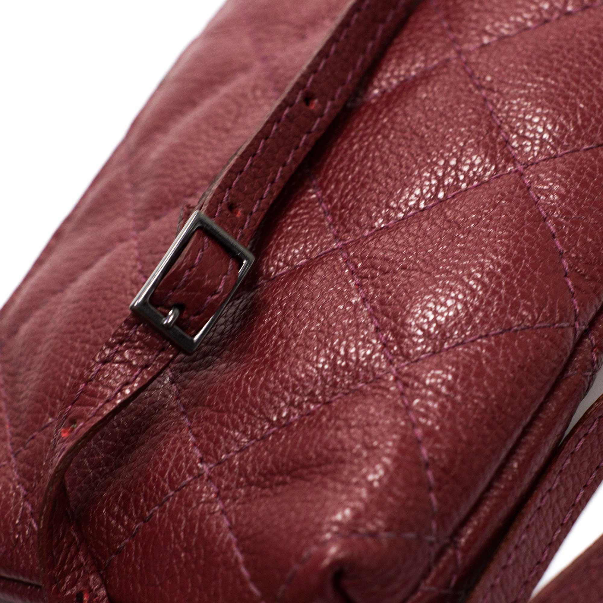Bolsa tiracolo em couro Gaga