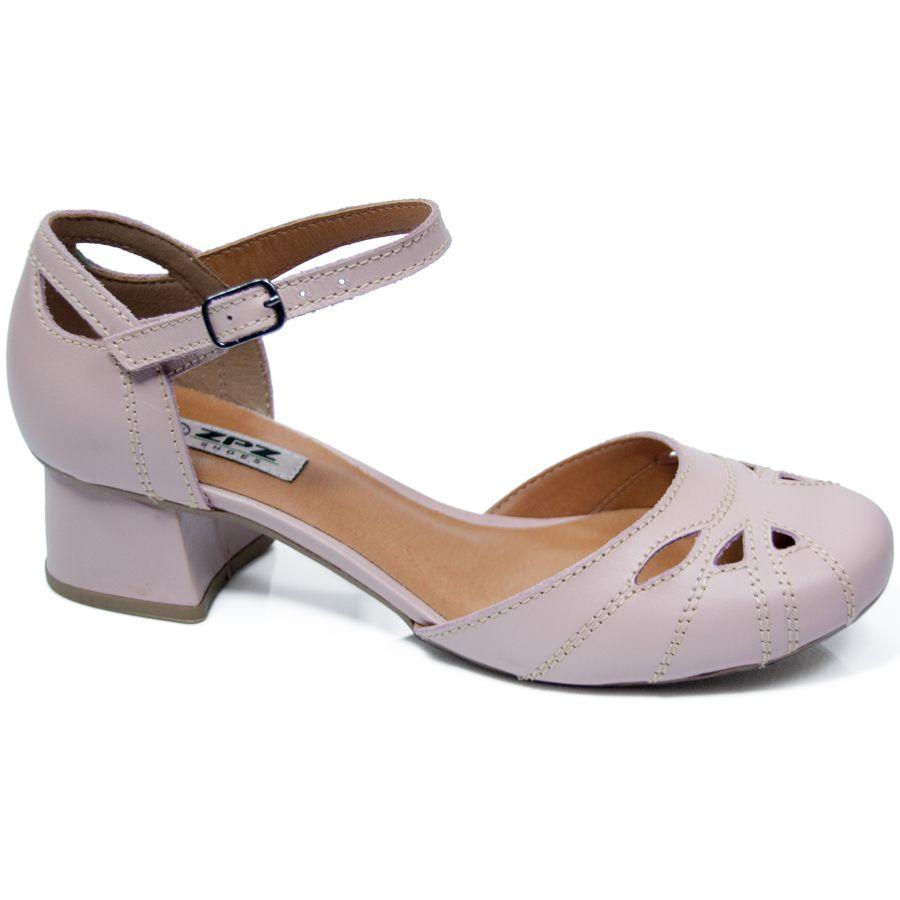 Sapato em couro Alberta