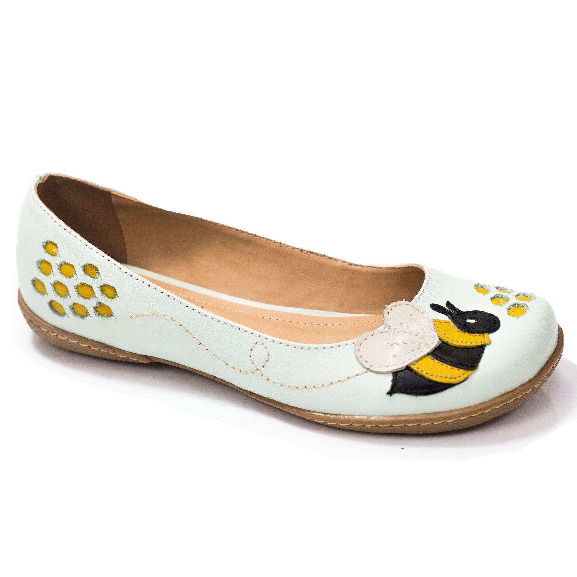 Sapatilha Boneca Retrô Bee