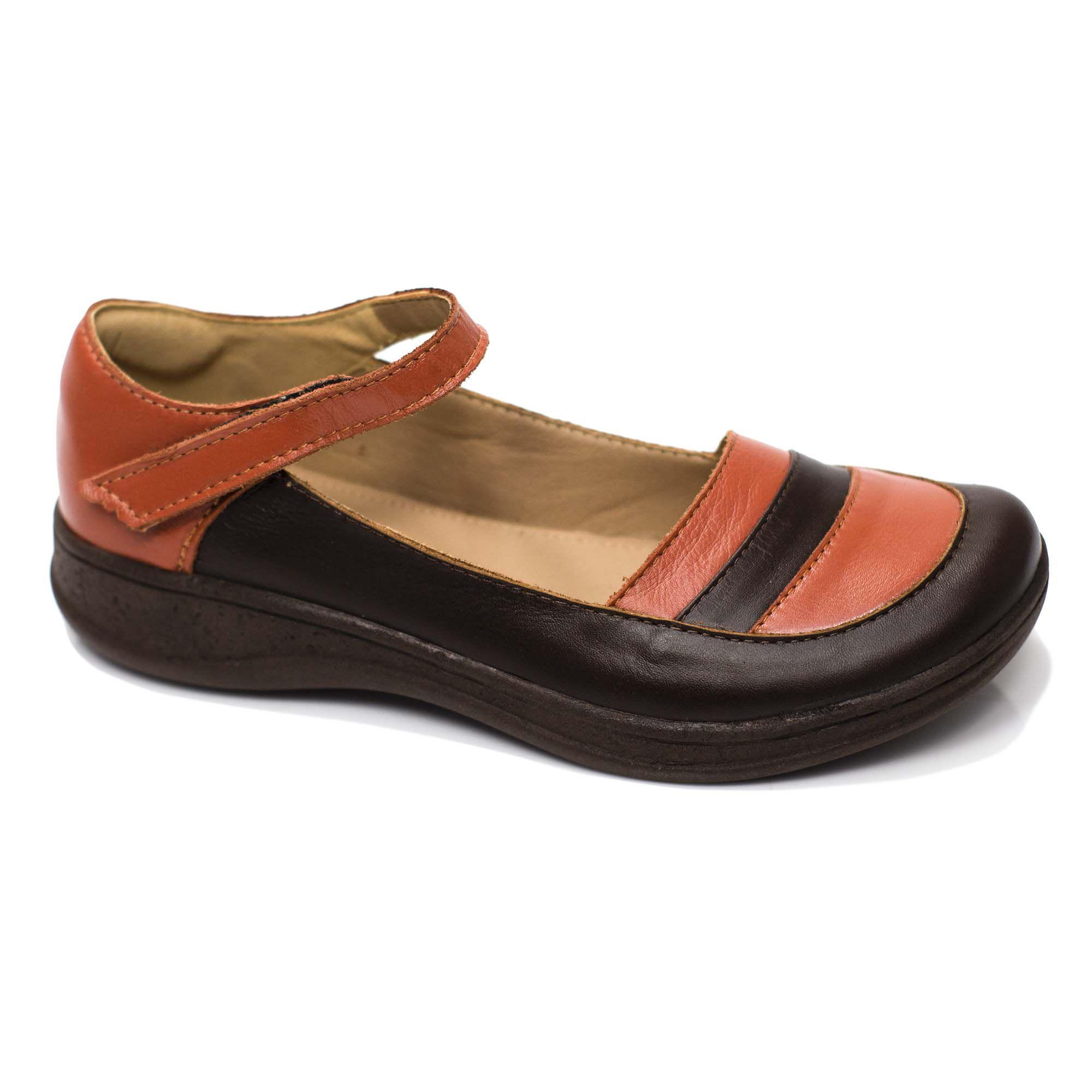 Sapato Comfort em Couro Yucca