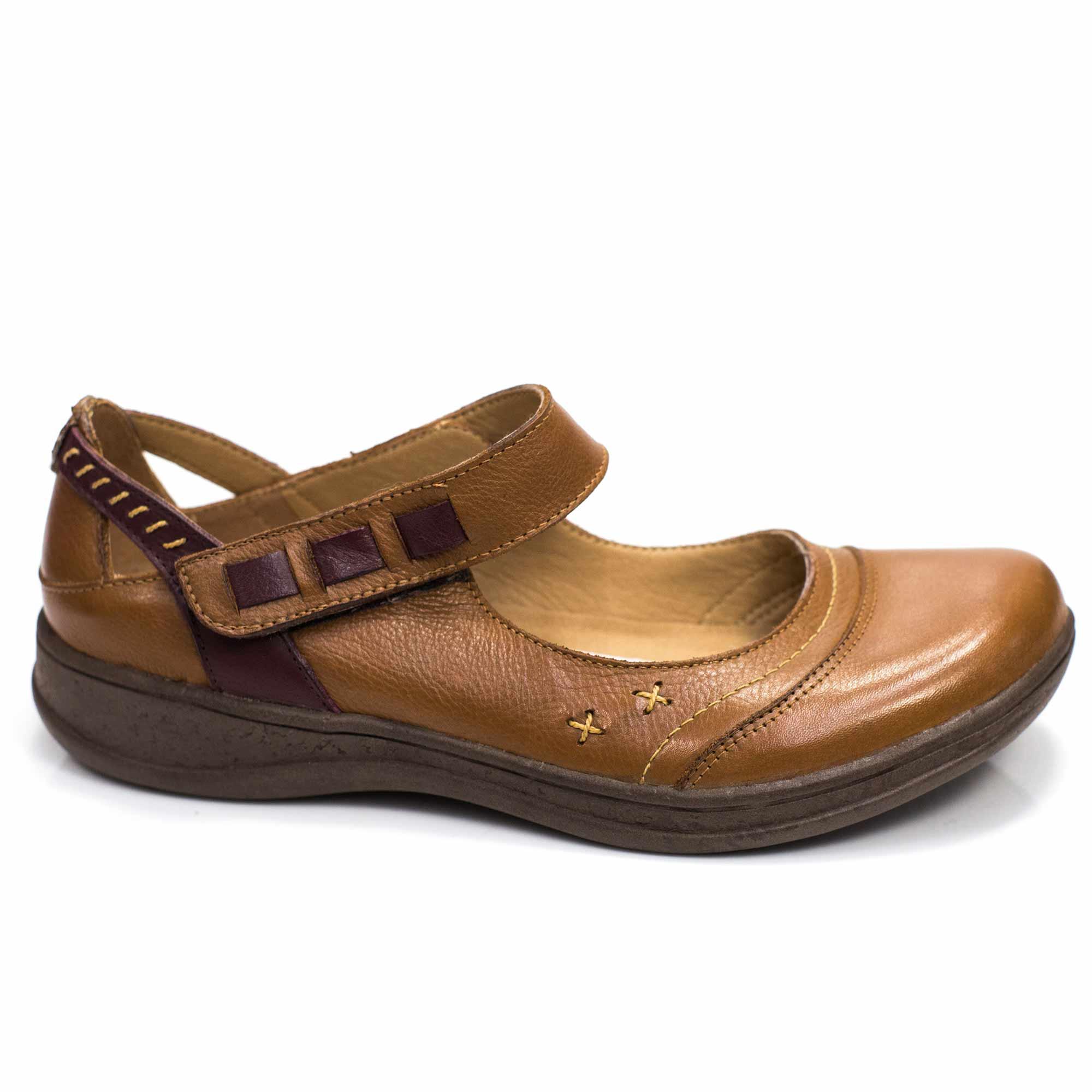 Sapatilha comfort em couro Dory - Pré Venda