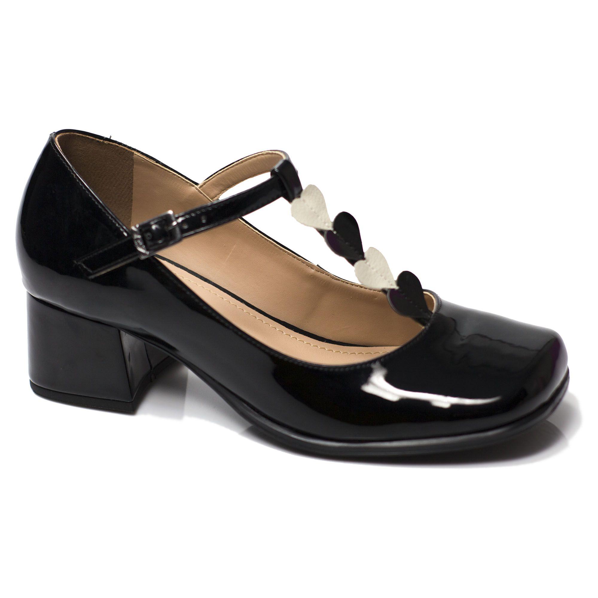 Sapato Boneca Retrô em verniz Lover