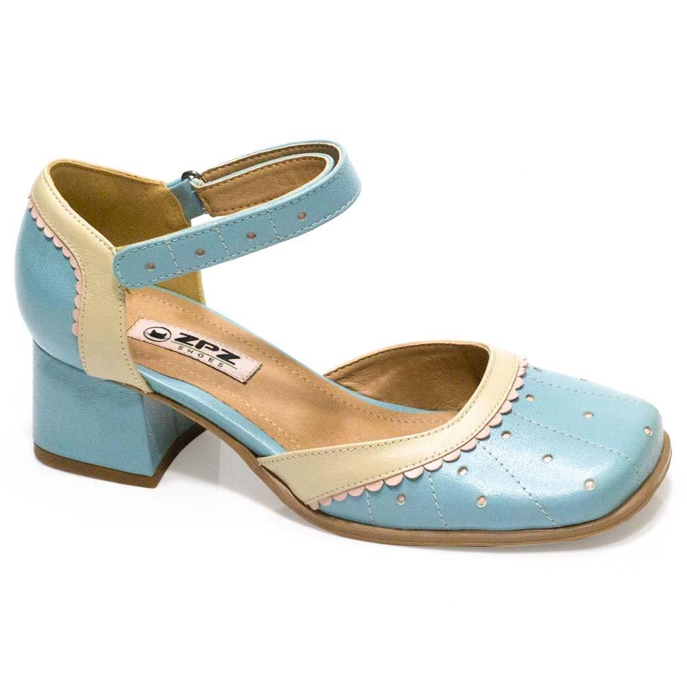 Sapato Retrô em Couro Dorothy