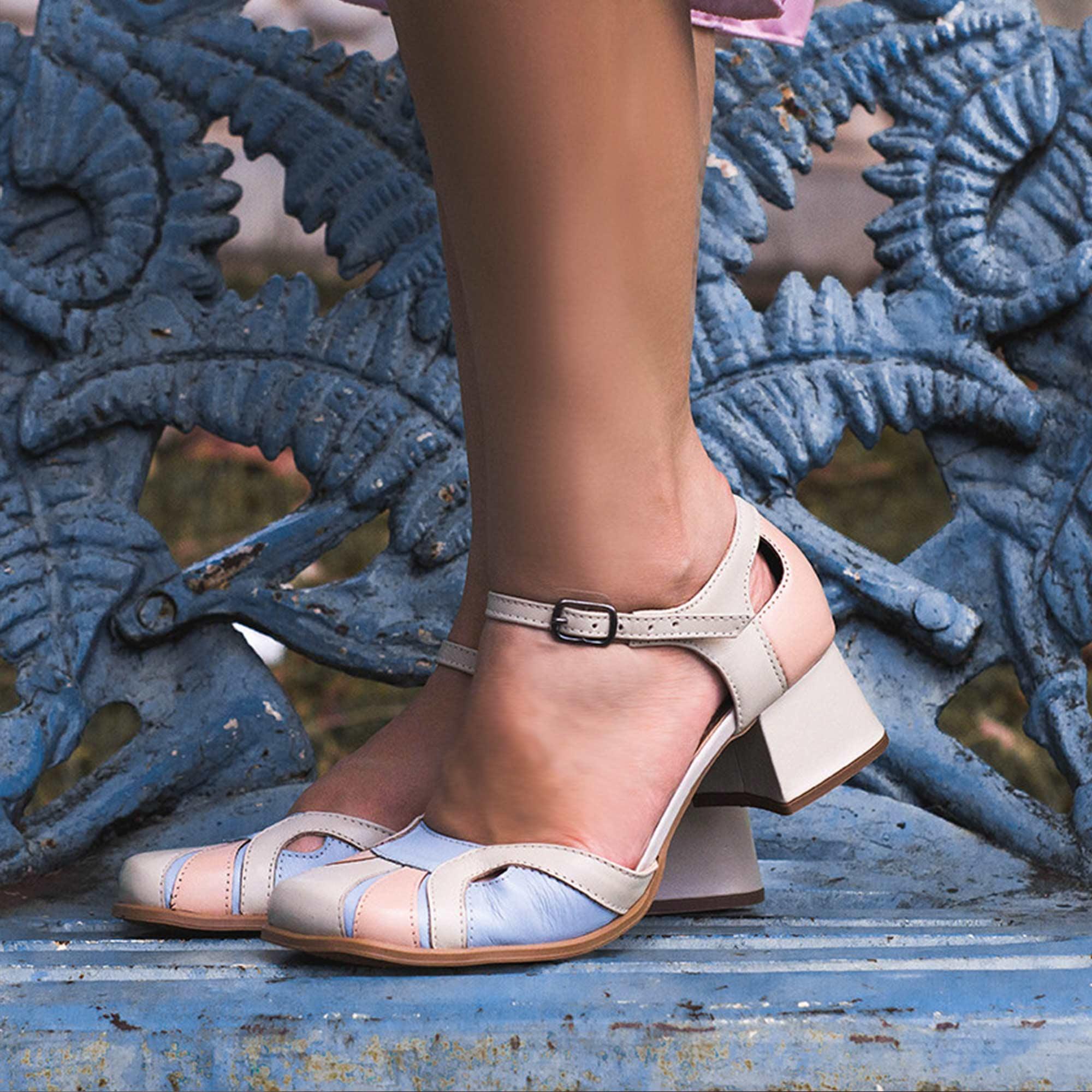 Sapato Retrô em couro Lordy