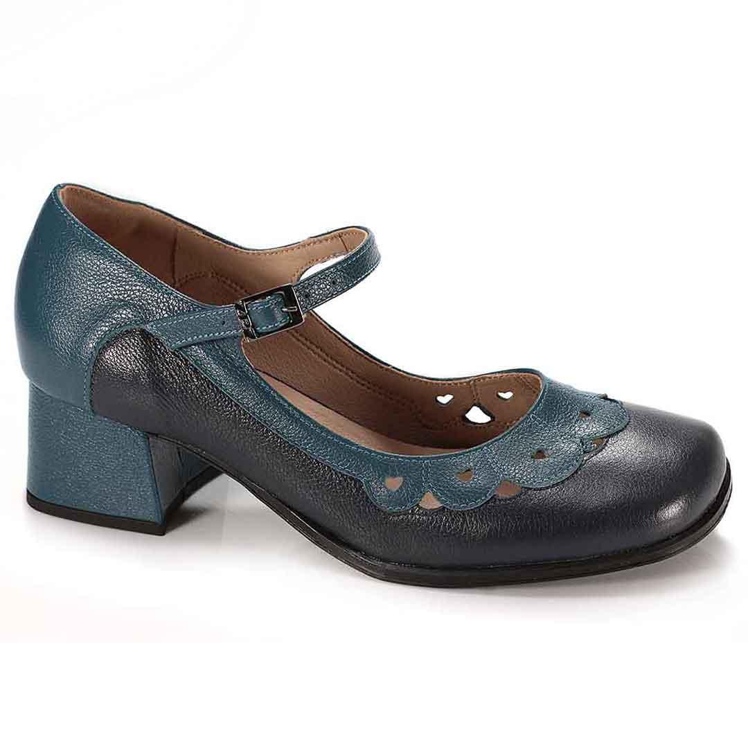 Sapato Retrô em couro Magic