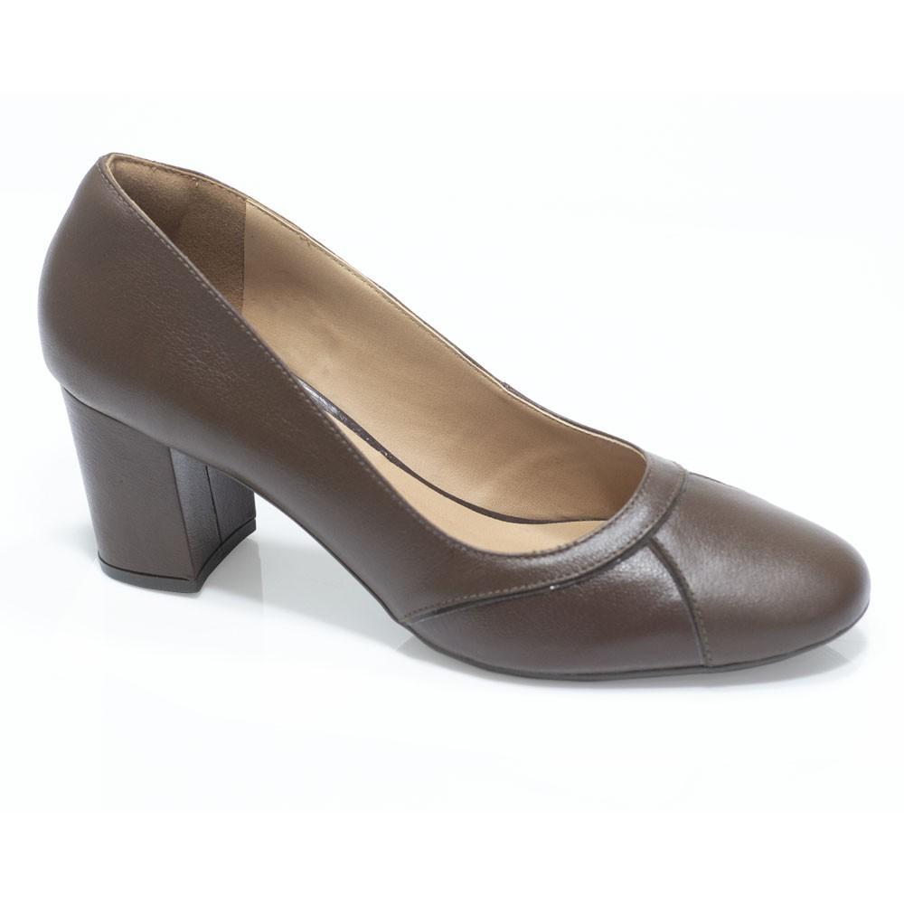 Sapato Retrô em Couro Reeze
