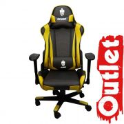 Cadeira Evolut OUTLET Racing EG-900 Amarelo