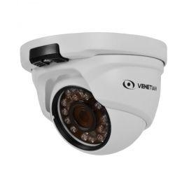 Câmera Venetian Dome HD IR 25m 2.8mm Metalica IR25 metros HD 55426