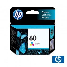 Cartucho de Tinta HP 60 Colorido - CC643WB