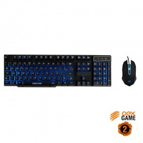 Combo Gamer Teclado e Mouse OEX Punch USB TM302