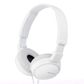 Fone de Ouvido Sony MDRZX110 Branco dobrável