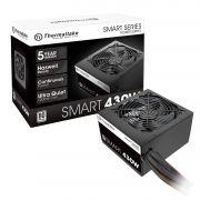 Fonte Thermaltake 430W TT SMART ATX2.3/A-PFC 80+ PS-SPD-0430NPCWUS-W