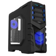 Gabinete Gamer Gamemax G530B Full Window Azul
