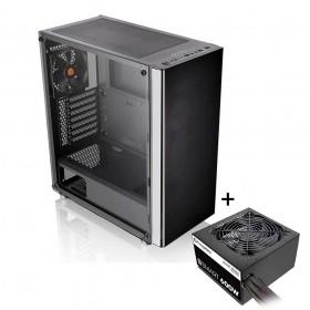 Gabinete Gamer Thermaltake TT V200 TG CA-3K8-60M1WZ-01