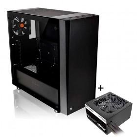 Gabinete Gamer Thermaltake TT Versa J21 TG CA-3K1-60M1WZ-00