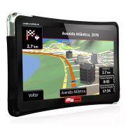 "GPS Automotivo Quatro Rodas 4.3"" MTC4310 Slim"