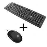 Kit Teclado + Mouse Bright Standart Usb Preto